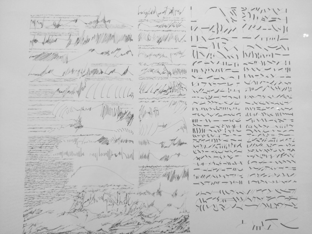 Mirtha Dermisache hizo un milagro: retrató la intensidad de la escritura.   #Malba #MirthaDermisache