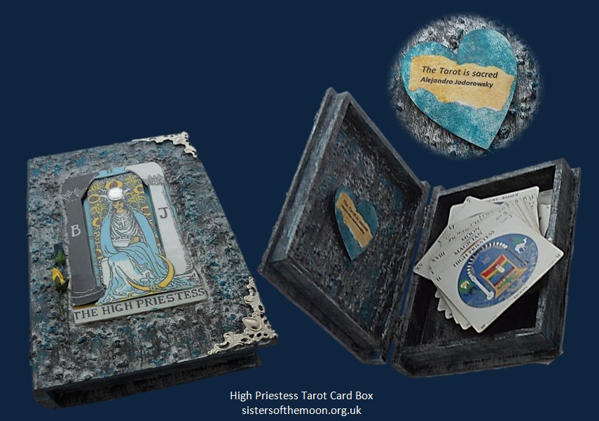 Do you read the Tarot? Keep your cards safe in this High Priestess #Tarot #Card #Box  http:// bit.ly/2vG2jAT  &nbsp;   #twittersisters<br>http://pic.twitter.com/0YTR5TJtTQ