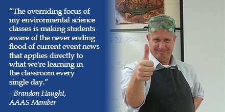 #AAASmember Brandon Haught is a #Force4Science   http:// bit.ly/2w1uJFG  &nbsp;  <br>http://pic.twitter.com/v9kysHjjzN