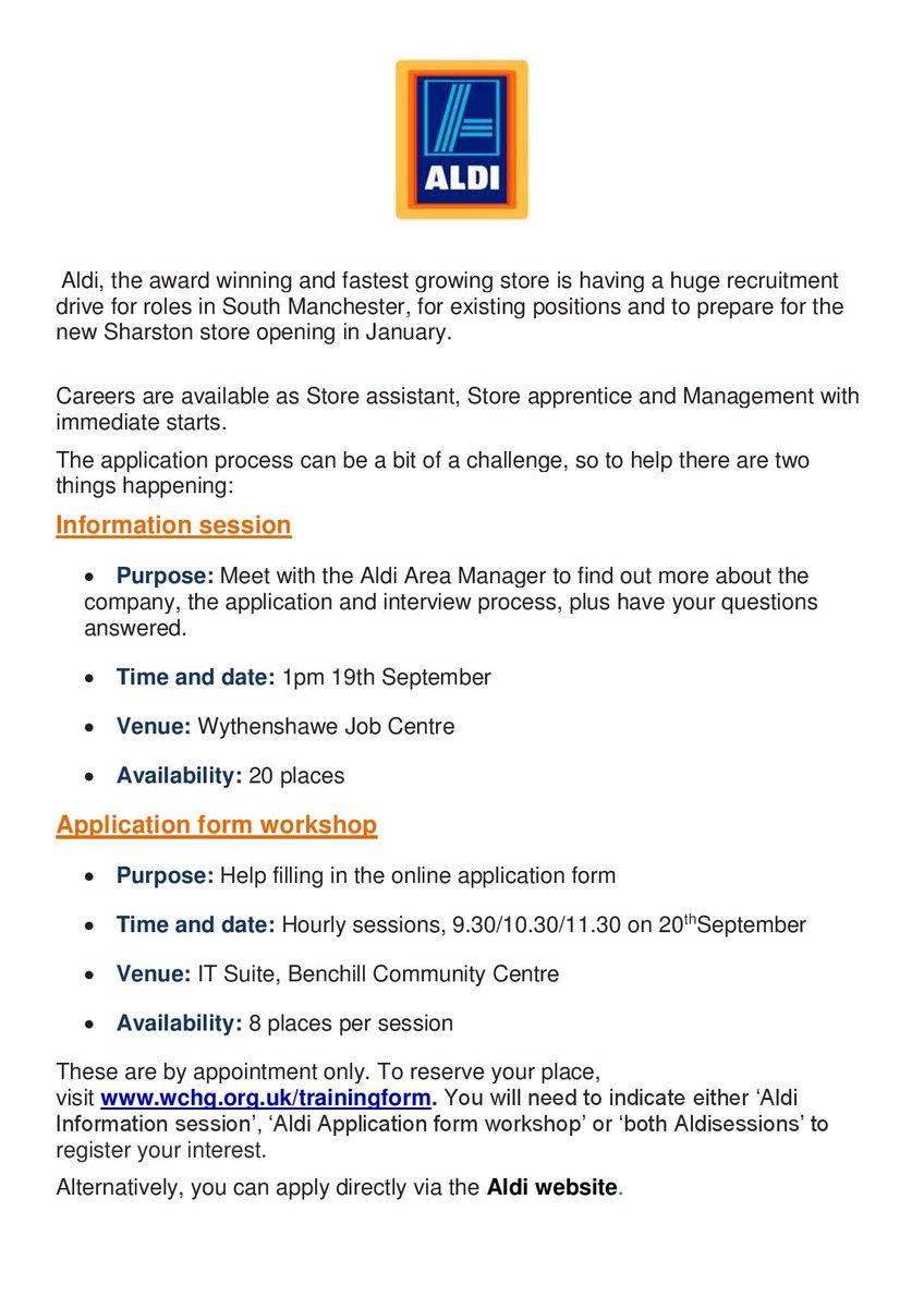 Aldi apprenticeship recruitment process