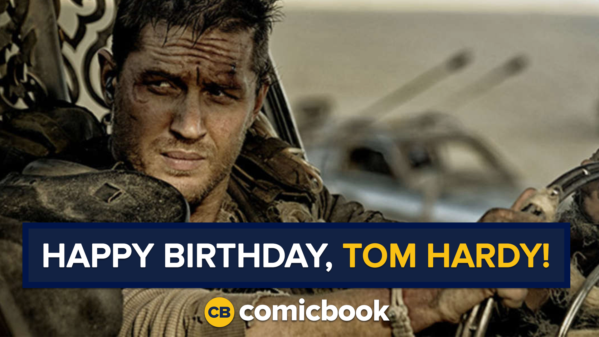 Happy Birthday, Check out some of our favorite Tom Hardy scenes!