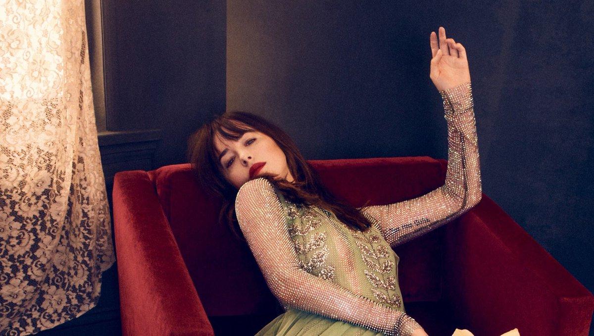 Dakota Johnson Fans On Twitter Stunning New Photoshoot Of Dakota For Vogue Spain October 2017 Dakotajohnson