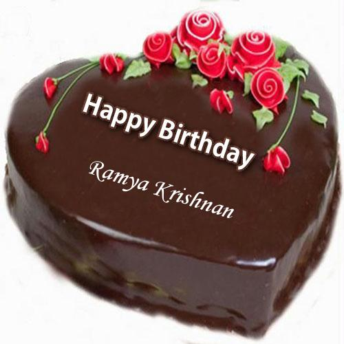 Ramya Krishnan mam humble gift please accept wish you very happy birthday