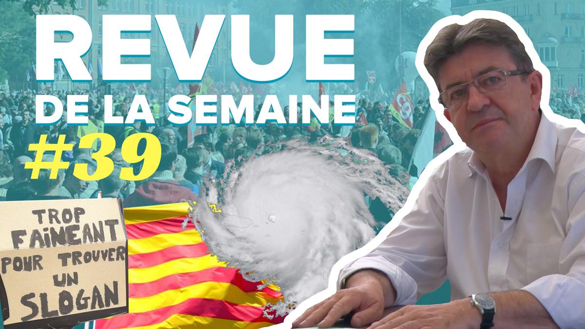 #RDLS39 en ligne !  Les thèmes : Irma, Catalogne, 12 et 23 septembre, La Réunion.  Bon visionnage ! Partagez !  ➡️ https://t.co/4V3rdpb3ZJ