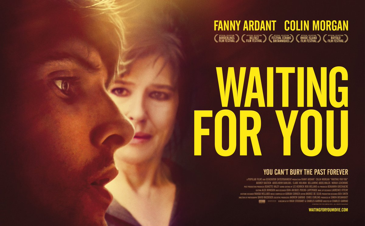 News: #Waitingforyou official poster &quot; You can&#39;t bury the past forever &quot; #ColinMorgan #FannyArdant  http:// Waitingforyoumovie.com  &nbsp;  <br>http://pic.twitter.com/87N5UXCIiS
