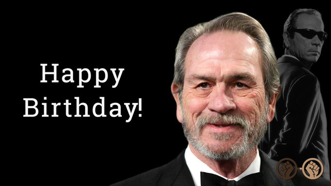Happy Birthday to the legendary Tommy Lee Jones! The Men in Black Agent turns 71 today!