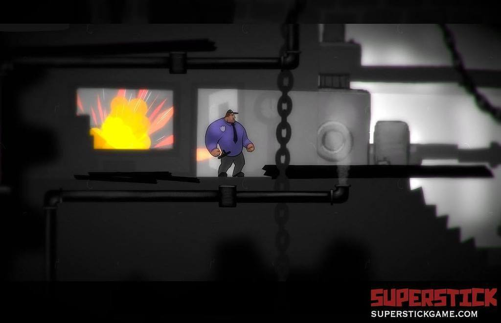 Main scene from #SuperStickGame particle effect and explosions. #indiedev...  http://www. instagram.com.convey.pro/l/lGkZnZ1  &nbsp;   by #nautabotnews via @c0nvey<br>http://pic.twitter.com/TPo8Vgfuji