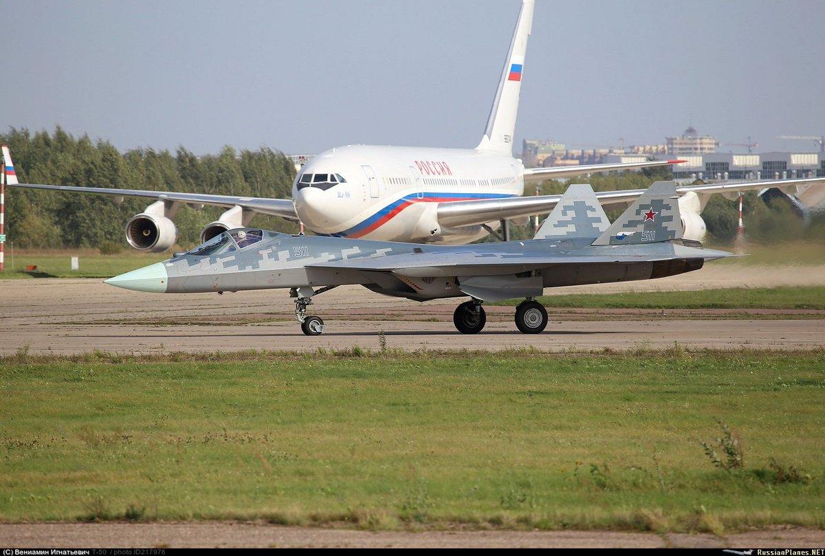 مقاتله Sukhoi T-50 PAK FA سيتغير اسمها الى Su-57  - صفحة 2 DJyPzCtXcAUM-pP