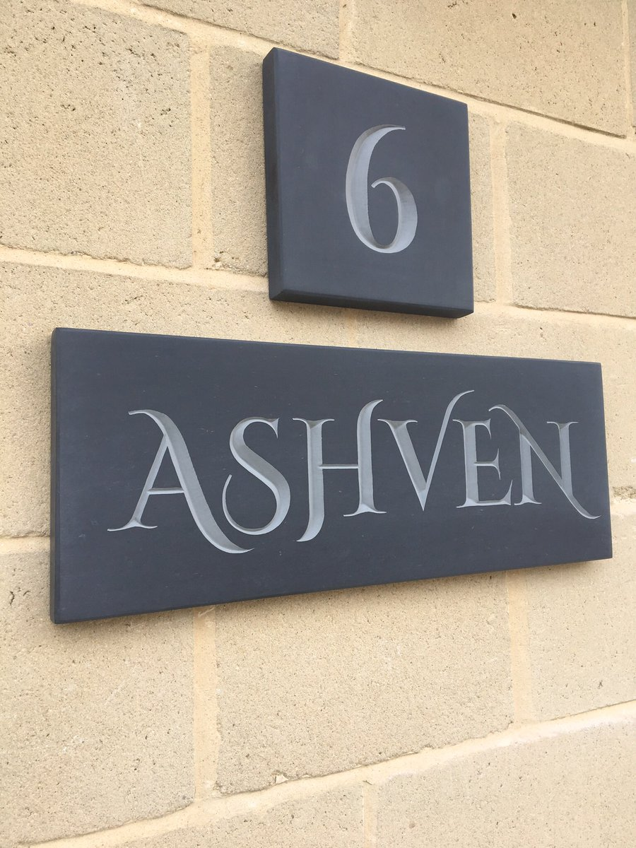 #handcarved #slate fitted in #bath #housesigns<br>http://pic.twitter.com/QuxY4kaHeQ
