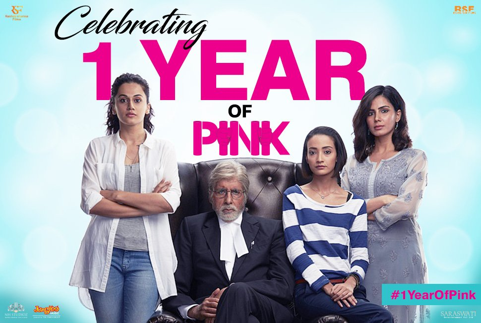 Celebrating a year of painting the world Pink #1YearOfPink https://t.co/hxZx4Xtvp5