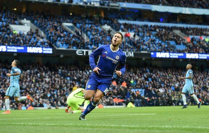 Eden Hazard vs top PL sides. Always performing.