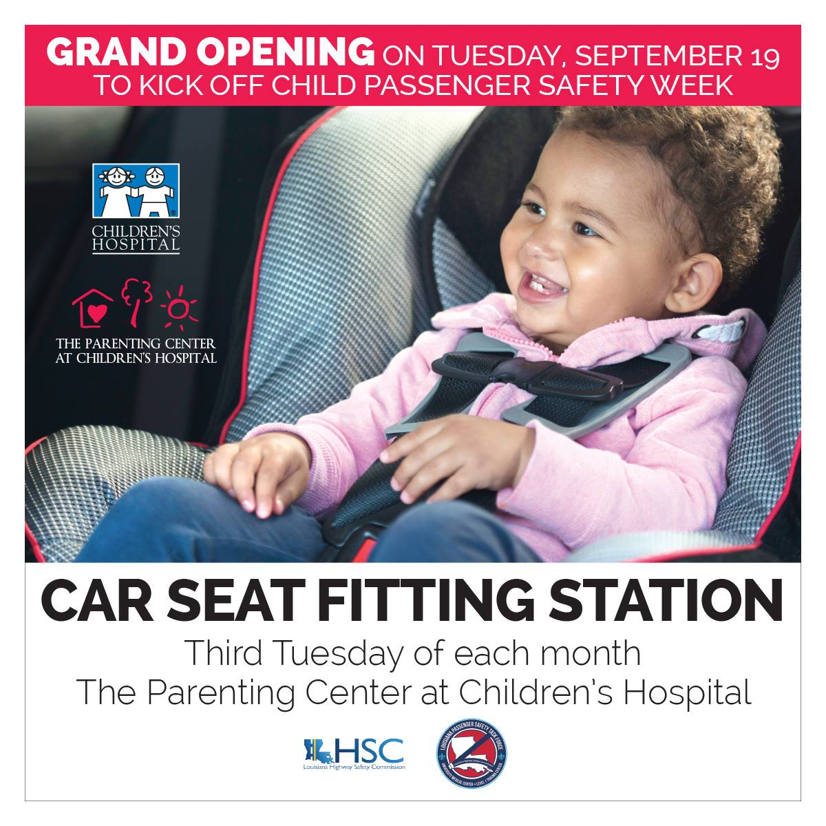 Childrens Hospital On Twitter Car Seat Fitting Station To Launch