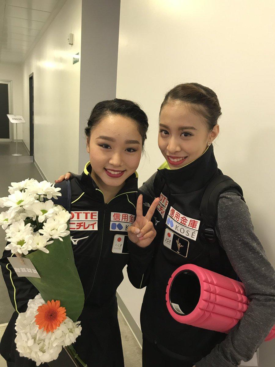 ロンバルディア杯女子フリーは樋口新葉選手が2位松田悠良選手が5位と大健闘👏‼️中でも樋口選手は合計2…