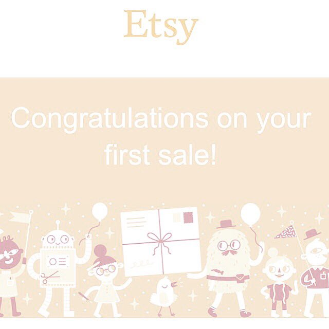 First Sale On Etsy!  Can Only Go Up From Here Surely?  #etsy #new #etsyseller #jewellery #jewelry #handmade #art<br>http://pic.twitter.com/JphbPmd0AX