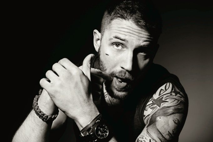 Happy 40th birthday to Tom Hardy