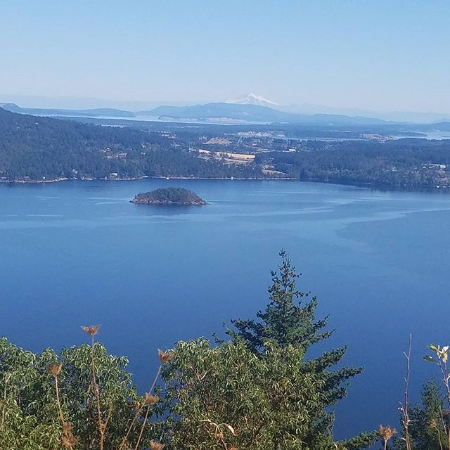Clear enough to see Mount Baker today.  #mountbaker #malahat #salishinlet #Fulltimerv #MobileOfficeLife #BC #VancouverIsland<br>http://pic.twitter.com/QaN0uIcxQ3