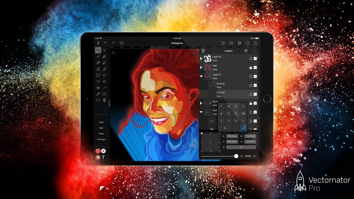 Stop waiting for a #vector #graphic #design software you&#39;ve been dreaming of - #Vectornator Pro 1.2 is about to arrive.<br>http://pic.twitter.com/HHexEWtv2e