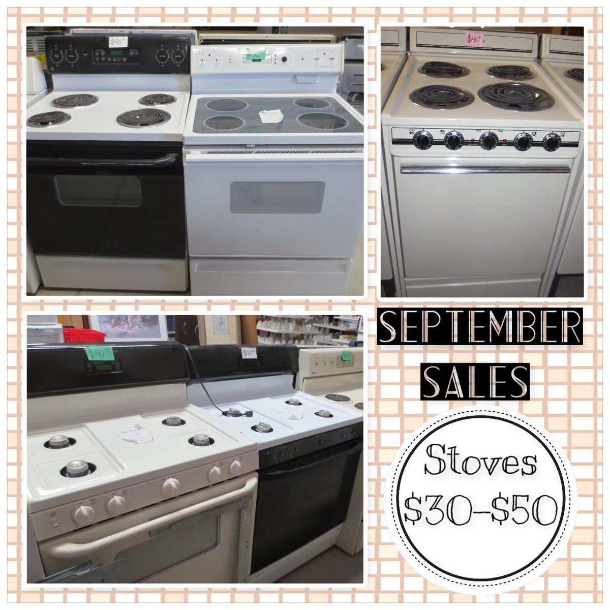Yuma Habitat On Twitter Prices Are Dropping Here At The Restore Check Out This Months Sales On Both Gas And Electric Stoves Ranging From 30 50 Yuma Hfhy Https T Co Q7ulcafdtx