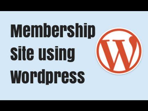 Membership plugin wordpress