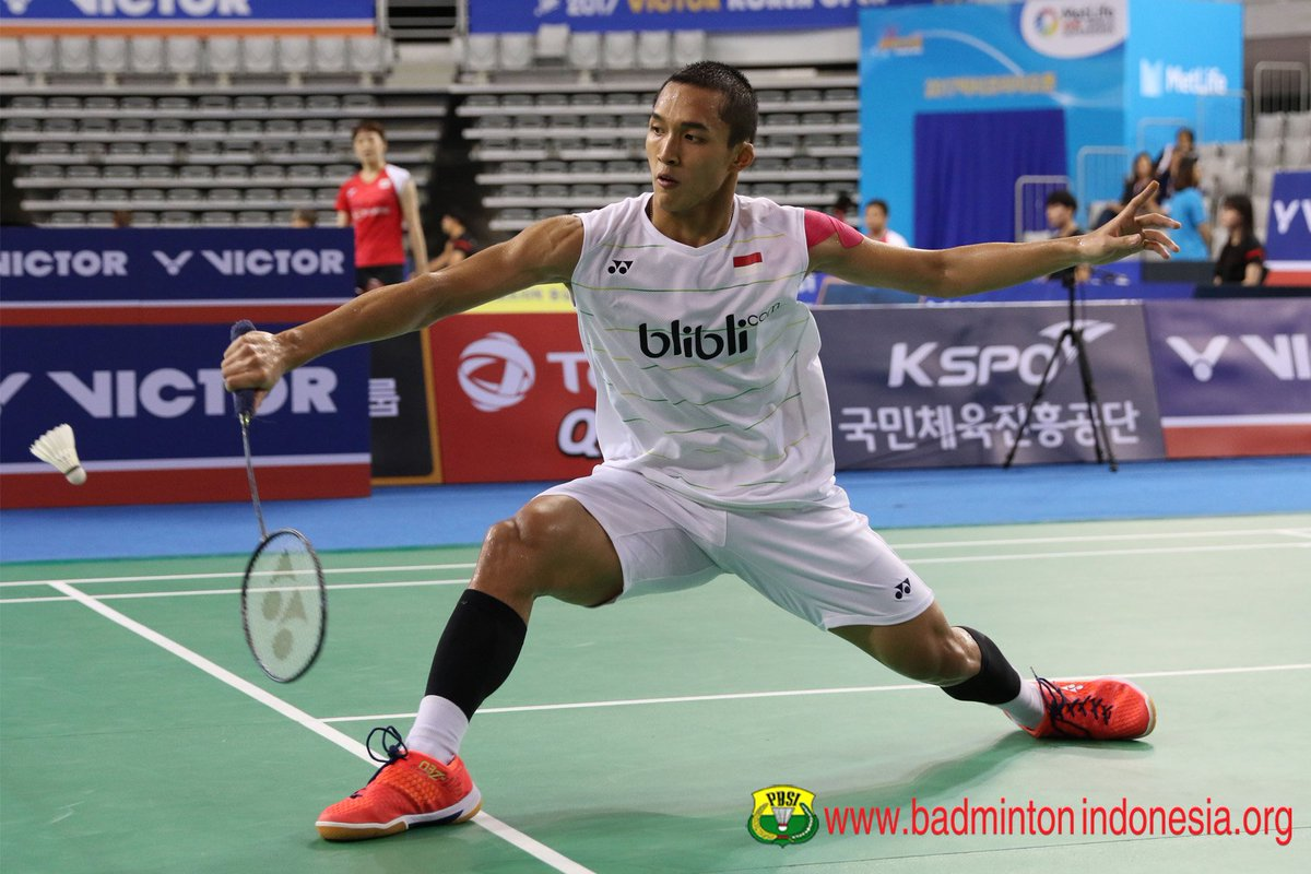 "BADMINTON INDONESIA on Twitter ""Jonatan Christie KoreaSS s"