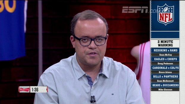 Two minute warning especial: na semana da 'lei do ex', @ESPNLeague_br palpita em resultados da NFL https://t.co/3fi9WYKqsr
