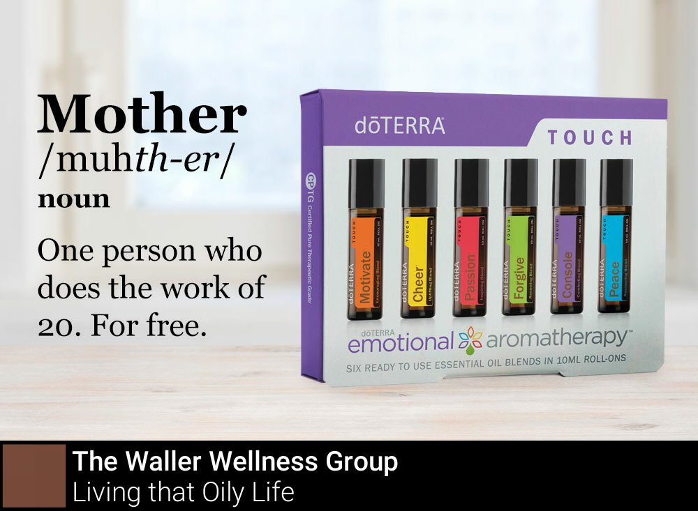 This #MothersDay, give the special woman in your life the dōTERRA Emotional Aromatherapy™ Touch Kit! <br>http://pic.twitter.com/uosVABQDaM