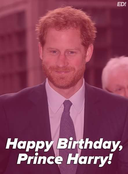 Happy birthday to Prince Harry who turns 33 years old today.