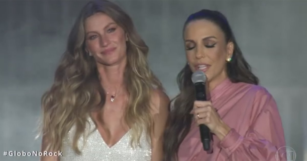 Gisele e Ivete cantam 'Imagine' na abertura do palco principal do Rock In Rio https://t.co/TjVoIPRBEd #GloboNoRock