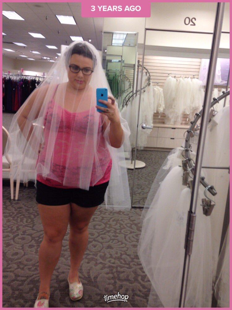 Up a wedding dress