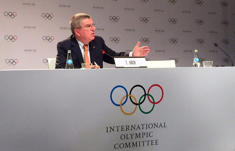 test Twitter Media - IOC President Bach Doesn't Rule Out Double Allocation Of '26 And '30 Olympic Winter Games https://t.co/LEgTzziaTC https://t.co/SyTOMJZGFN