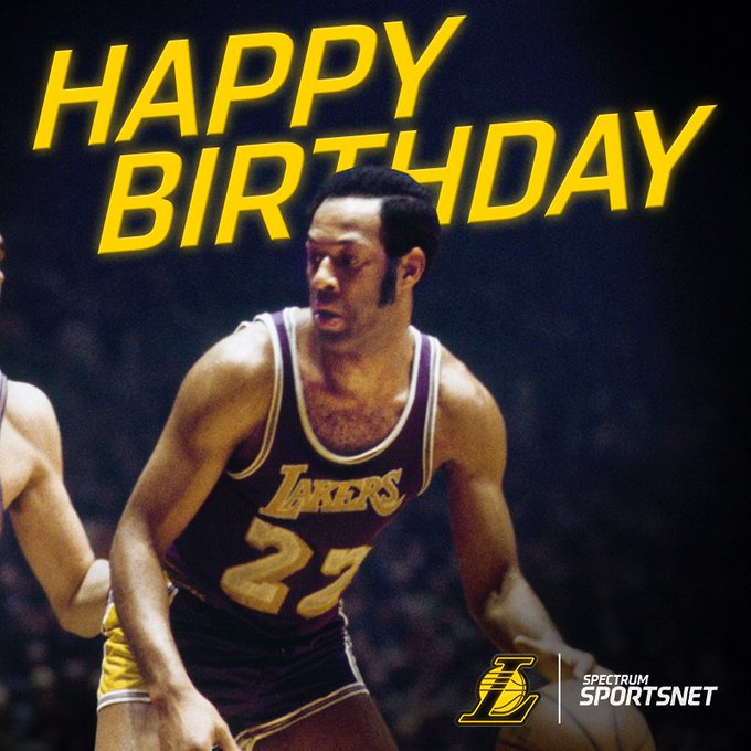 Join us in wishing legend Elgin Baylor a very happy birthday!