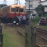 現在、小湊鉄道馬立駅付近で事故の為不通です。 pic.twitter.com/O1sQgWrwjs
