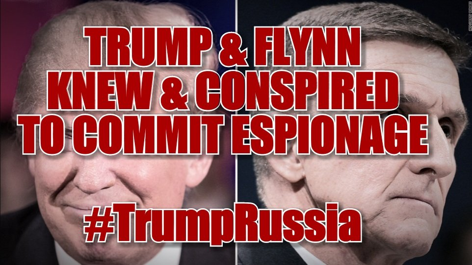 Flynn is the  #TrumpRussia #TrumpRussiaCoverUp <br>http://pic.twitter.com/jkVcn9CHYe