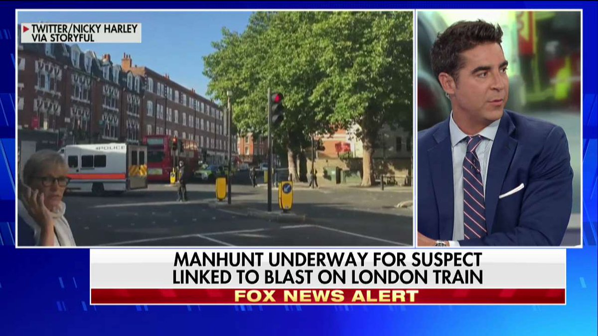 .@jessebwatters on terrorism: 'Great Britain is our best ally but they've got to get much tougher.' #TheFive