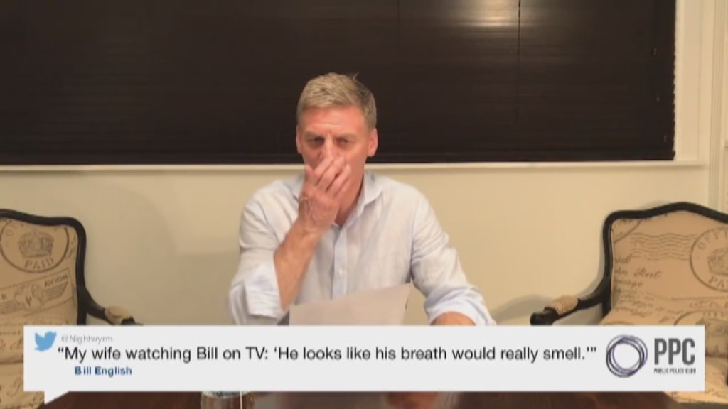 Image result for nz politicians read mean tweets