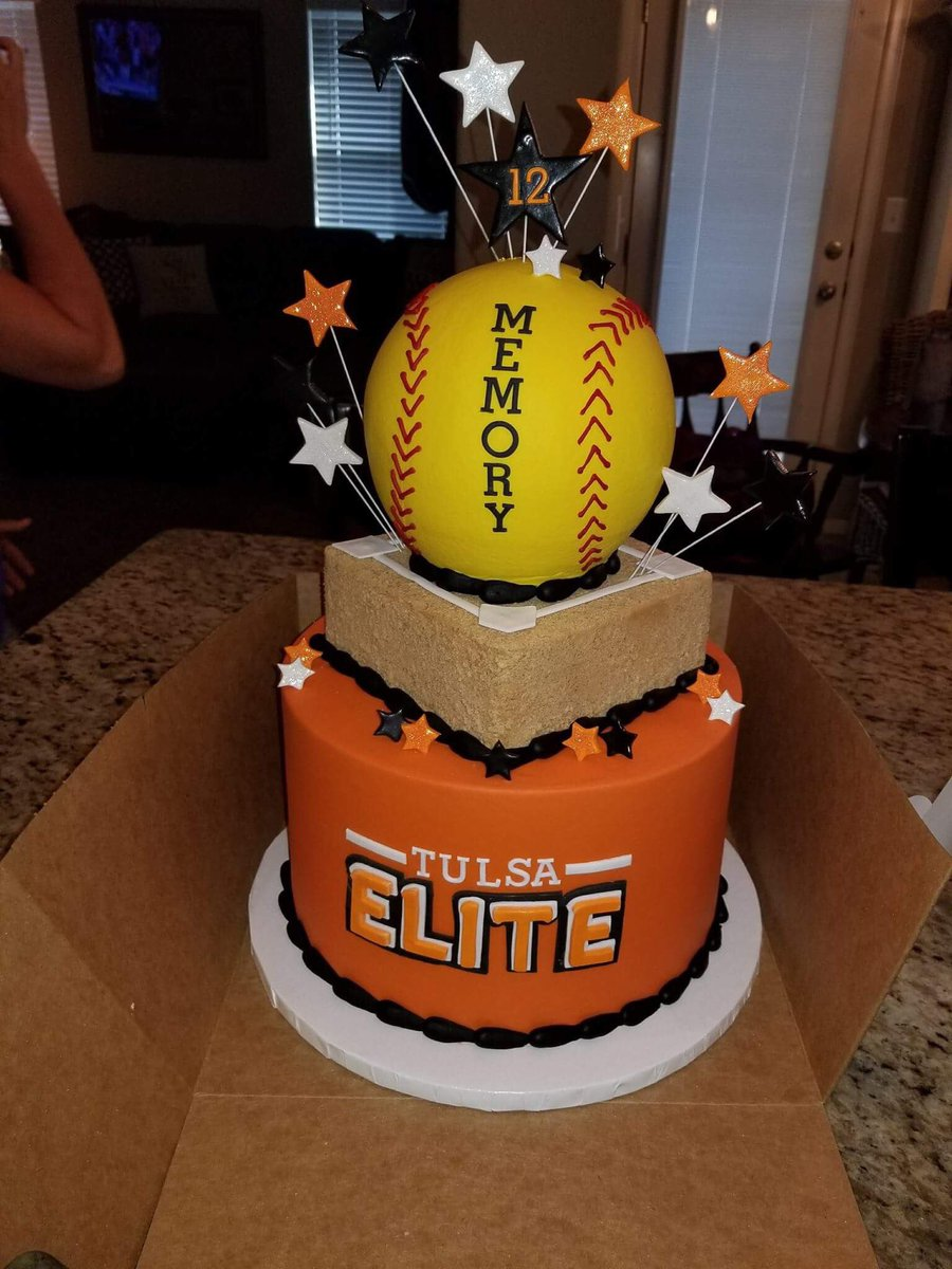 Prime Tulsa Elite Softball On Twitter Thats The Coolest Birthday Cake Personalised Birthday Cards Paralily Jamesorg