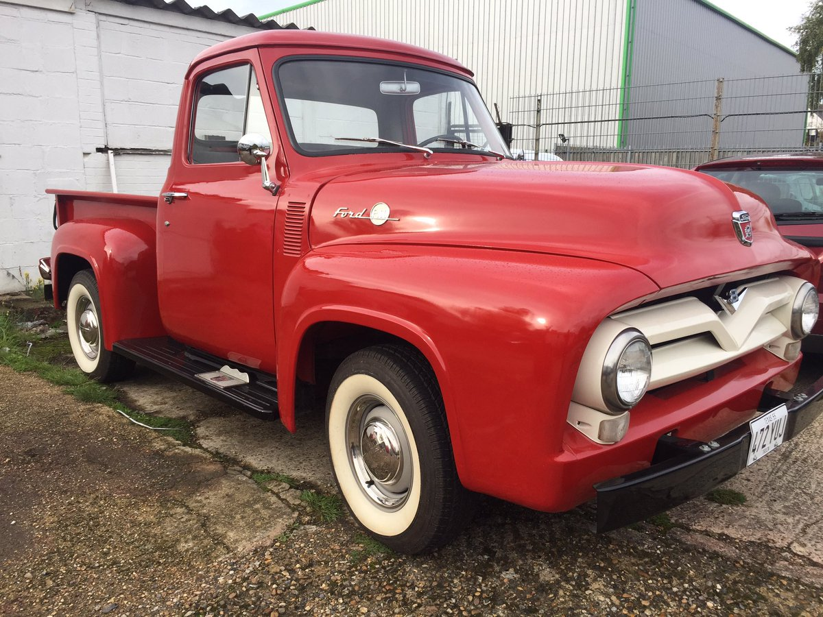 Mikes Musclecars On Twitter 1955 Ford F 100 Pick Up For Sale 312ci F100 Wheels V8 Three The Tree Restored In Texas Been Here 6 Years 19995 Ono Fordtruck Pic Qvzqyxkkr8