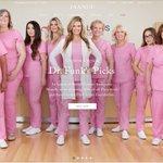 Wow @drkristifunk and the @pinklotusbc girls look fantastic in their @JaanuuByDrNeela scrubs! Jaanuu donates 10% of sales to @PLFSavesLives