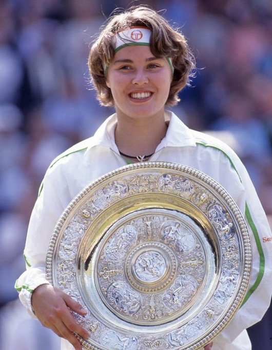 Wimbledon champ at age 16.  Happy birthday Martina Hingis.