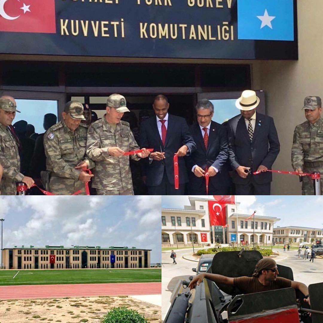 تركيا تفتتح أكبر قاعدة عسكرية خارج حدودها DK-9FXXW4AEaGDr