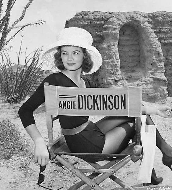 Happy birthday, Angie Dickinson!