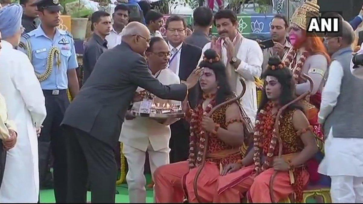 """ANI on Twitter: """"Delhi: President Ram Nath Kovind, Vice President ..."""