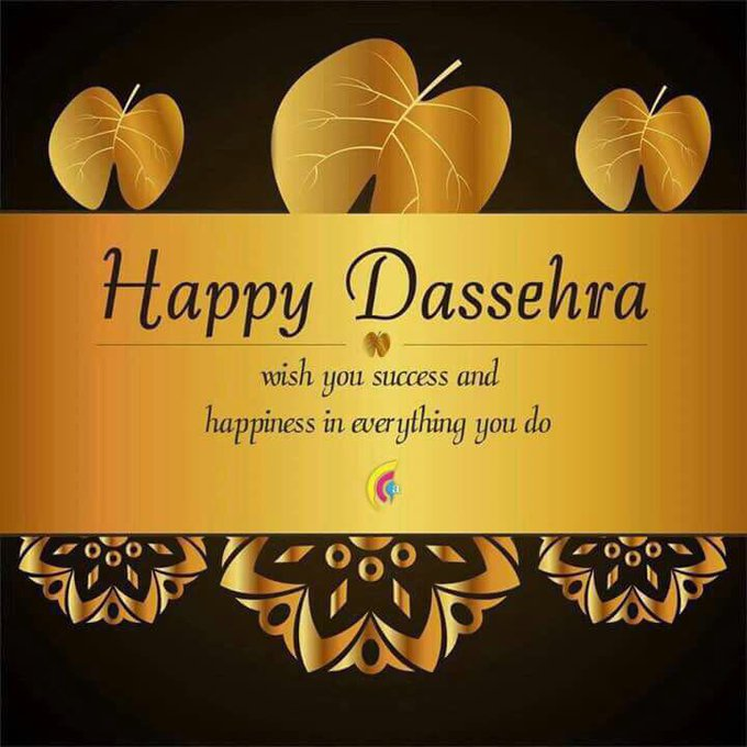 Happy vijayadashmi to all #happydusshera #festival #happiness https://t.co/Szbciay1Yf