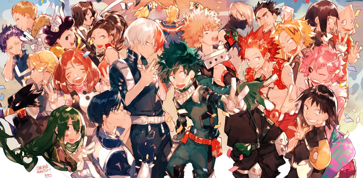 ヒロアカアニメ2期おつかれさまでした 3期決定おめでとう…✨!