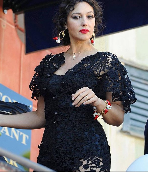Happy birthday to the one and only beauty Monica Bellucci