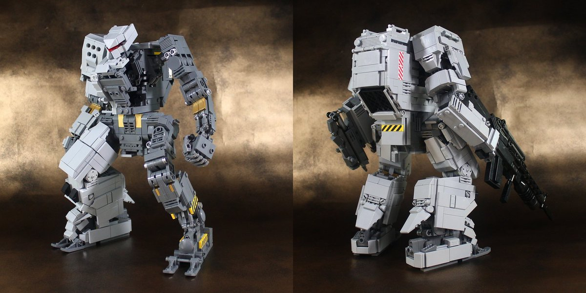 LEGOロボ/Iron Gigas 完成しました! : レゴ道