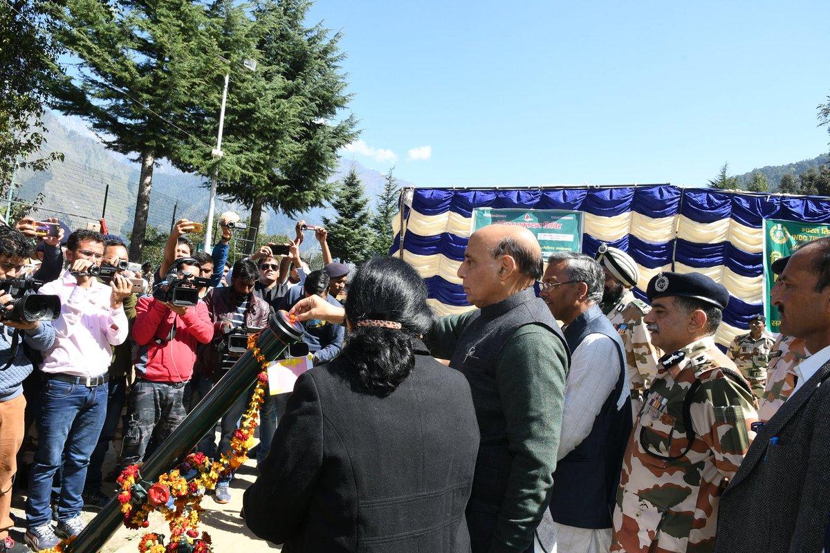 Uttarakhand: Rajnath Singh to celebrate Dussehra with jawans of ITBP