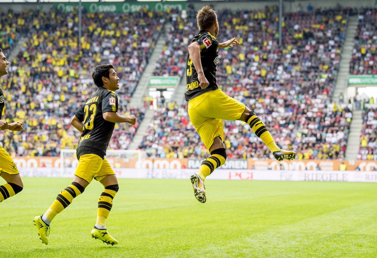 FC Augsburg vs Borussia Dortmund Highlights