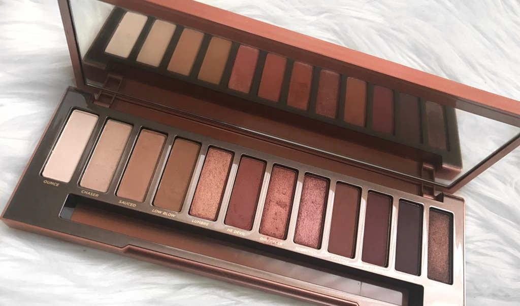 Urban decay naked heat eyeshadow palette review, photos, swatches