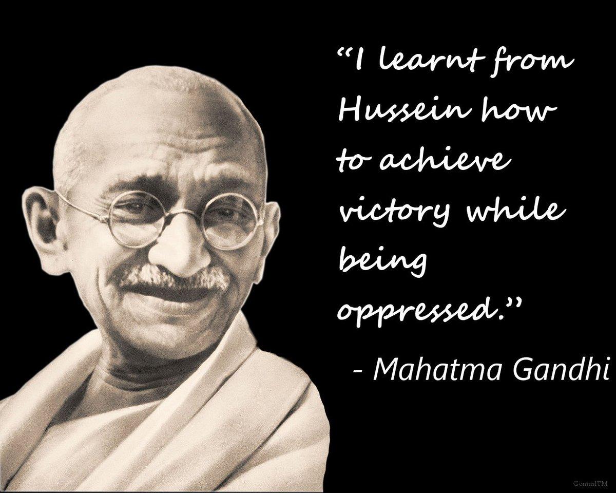 "Non Muslim Perspective On The Revolution Of Imam Hussain: Govt Of Pakistan On Twitter: ""Mahatma #Gandhi's First Salt"